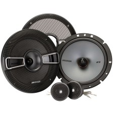 "Kicker 41KSS674 6.5"" 17cm Component Car Stereo Speakers - 125w RMS"