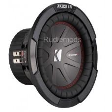 """Kicker 43CWR84 8"""" Dual Voice Coil Car Audio Subwoofer - 300w RMS"""