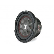 "Kicker 43CWRT672 CompRT 6.75"" Thin Profile Dual Voice Coil Car Audio Subwoofer"