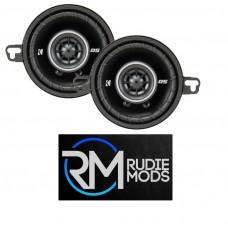 """Kicker 43DSC3504 Car Audio DS 3.5"""" (89 mm) Coaxial Speaker System 20w RMS"""