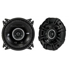 "Kicker 43DSC404 4"" 10cm Coaxial Car Audio Speakers - 30w RMS"