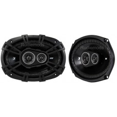 "Kicker 43DSC69304 6x9"" 3-Way Coaxial Car Audio Speakers 90w RMS"