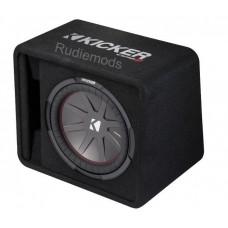 "Kicker VCWR122 CompR 12"" Passive Vented Car Audio Subwoofer Bass Box - 500w RMS"
