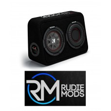 "Kicker TCWRT672 Car Audio CompRT 6.75"" Thin Profile Loaded Enclosure - 2 Ohm"