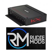 Kicker 44KXA16001 KX 1600W Monoblock Class D Subwoofer Amplifier 1600w @2ohm