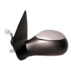 Peugeot 206 98-6/03 Electric Primed Wing Mirror PASSENGER