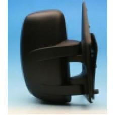 Nissan INTERSTAR VAN 03> Manual Black Wing Mirror PASSENGER