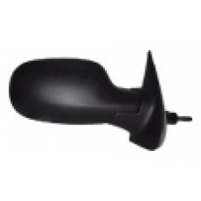 Nissan MICRA Mk.4 K12 03> Manual Black Wing Mirror DRIVER