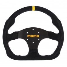 GENUINE Momo MOD.30 350mm Suede Car Steering Wheel