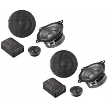 "Match MS-42C 2 way 4"" 10cm shallow fit car component speakers"