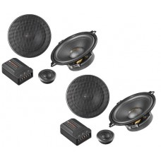 "Match MS-52C 2 way 5"" 13cm shallow fit car component speakers"