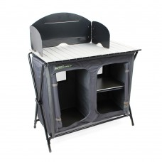 Outdoor Revolution Camp Kitchen Stand Table Collapsible Storage Cooking Area