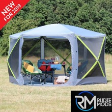 Outdoor Revolution Cayman Screenhouse Six Sided Pop-up Gazebo Utility Tent