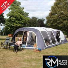Outdoor Revolution Airedale 7 Berth Inflatable Family Tunnel Tent