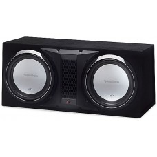 "Rockford Fosgate P1L-2x12 Punch P1 Dual 12"" Ported Enclosed Subw"