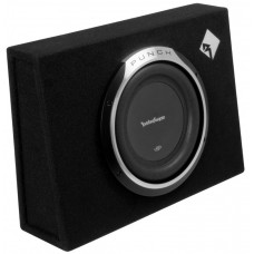 "Rockford Fosgate P3L-S10 Single 10"" Punch 300 Watt Shallow Enclo"