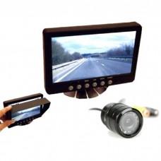 "Parksafe PS026C02 Car Van 7\"" Monitor Reversing Camera"