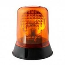 Permanent Bolt Mounted Rotating Amber Orange Beacon