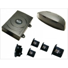 Park Safe PS104 4 way Wireless Parking Sensors inc Display 12v 2