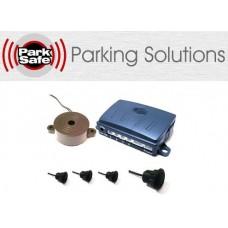Park Safe PS1940-16 4 Way Black Rubber Parking Sensor Kit Metal