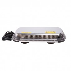 12-24v Amber Orange LED Car Van Truck Light Bar Magnetic Mount