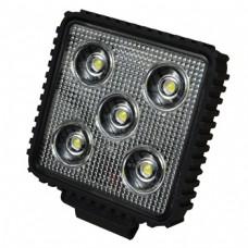 Square 3 Watt 5 LED Car Truck Van Work Light 10V-30V