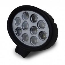 Oval 3 Watt 10 LED Car Van Truck Work Light 10V-30V