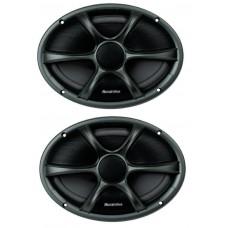 "Phoenix Gold RX46CX 6""X4""POWER 2 Way Coaxial Car Speakers 80w 1 Pair inc grilles"
