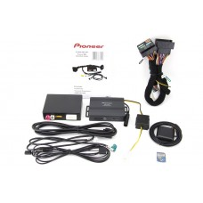 Pioneer AVIC-F260VAG Plug-and-play OEM headunit upgrade to Navigation