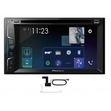 "Pioneer AVH-Z3100DAB 6.2"" Double Din Touch Screen CD AUX DAB BT Apple Car Play"