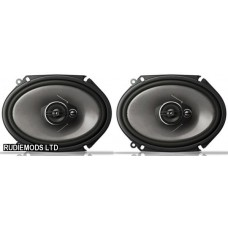 "Pioneer TS-A6813i 6""x8"" Car Custom Fit Speakers"