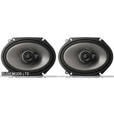"Pioneer TS-A6813i 6""x8"" Car Custom Fit Speakers"
