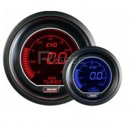 Prosport 52mm EVO Car Boost Gauge PSI Red Blue LCD Digital Display