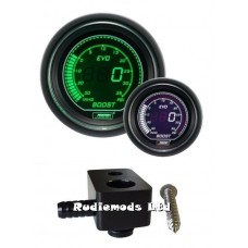 Prosport Ford Fiesta ST180 52mm EVO Boost Gauge PSI and fitting adaptor GN WT
