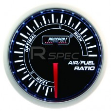 52mm Super Smoked White Air to Fuel Ratio Gauge
