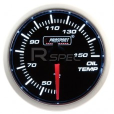 52mm Super Smoked White Oil Temperature Gauge