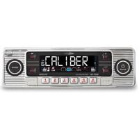 Caliber RCD110 retro look car CD MP3 USB SD card AUX chrome