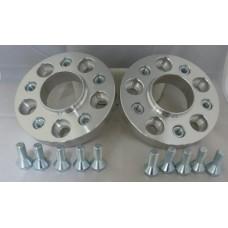 VAG 5x100 57.1 to BMW 5x120 72.5 15mm Hubcentric PCD Adaptors - Steel Inserts