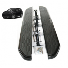 All BLACK Side Steps Running Boards to fit RR Vogue L405 2012 Onwards