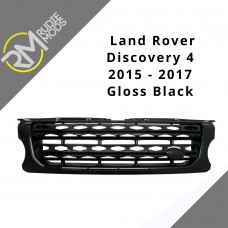 Gloss black factory style grille to fit Land Rover Discovery 4 Facelift 2014 on