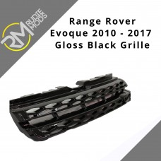 Gloss Black Front Original Look Grille to fit Range Rover Evoque 10-15