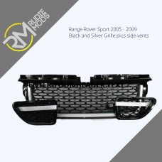 Autobiography style Black Front and Side grille package to fit RR Sport 05-09