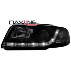 Audi A4 B5 99-01 black R8 Devil eye headlights LHD