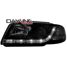 Audi A4 B5 95-98 black R8 Devil eye headlights LHD