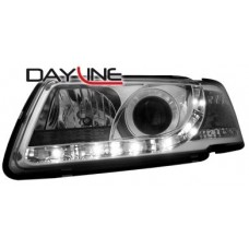 Audi A3 8L 96-00 chrome R8 Devil eye headlights LHD