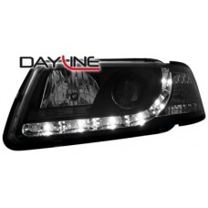 Audi A3 8L 96-00 black R8 Devil eye headlights LHD