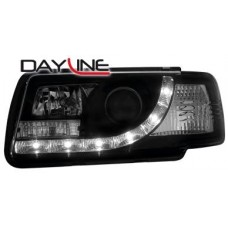 Audi 80 B4 91-94 black R8 Devil eye headlights LHD