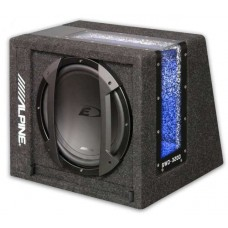 Alpine SWE-3200 12-Inch Active Bass Tube Subwoofer