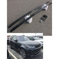 Land Rover Discovery 5 Roof Bars Roof Rails Gloss Black
