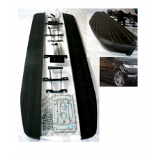 All BLACK Side Steps Running Boards to fit RR Sport L494 2013 Onwards